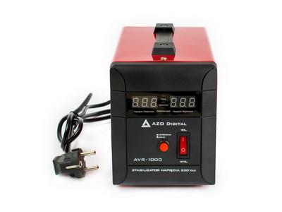 Stabilizator napięcia AVR-1000 1000VA Automatyczny regulator napięcia podawanego na wejściu stabilizatora, idealny do agregatów i instalacji o niestabilnych parametrach zasilania.