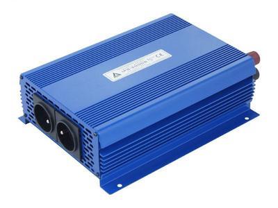 Przetwornica napięcia 12 VDC / 230 VAC ECO MODE  SINUS IPS-2000S 2000W Przetwornica 12/230V o czystym przebiegu SINUSOIDY Funkcja ECO MODE - pobór prądu w trybie czuwania 0.15A, automatyczna detekcja podłączenia odbiorników o mocy większej niż 1W