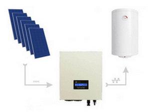 Przetwornica Solarna ECO Solar Boost MPPT-3000 3.5kW PRO Najprostszy system grzania wody w bojlerach