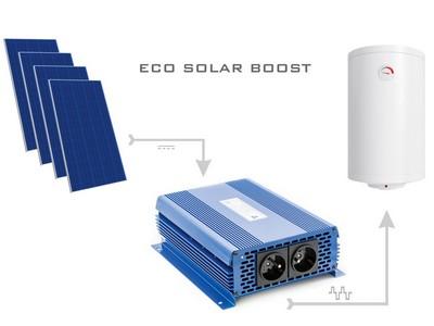 Przetwornica Solarna ECO Solar Boost MPPT-3000 3kW Solarna przetwornica napięcia od zasilania bojlerów grzewczych bezpośrednio z paneli PV